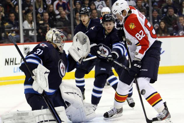 Little's Late OT Goal Lifts Jets over Panthers