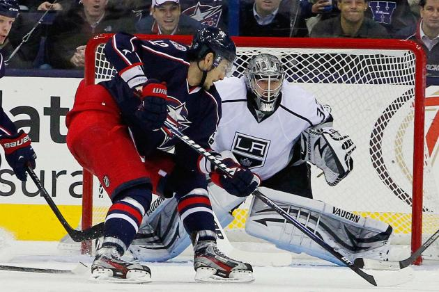 Richards Backs Quick's 18 Saves as Kings Win