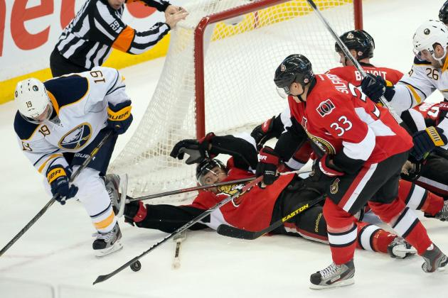 Senators Hand Sabres Their Third Straight Loss
