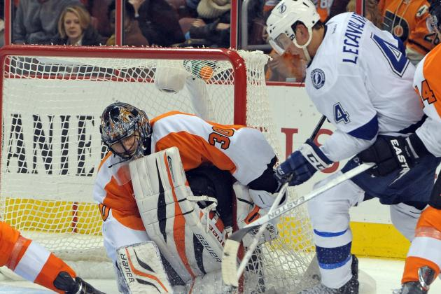 Sestito Lifts Flyers with Rare Offensive Outburst