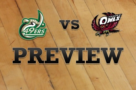 Charlotte vs. Temple: Full Game Preview