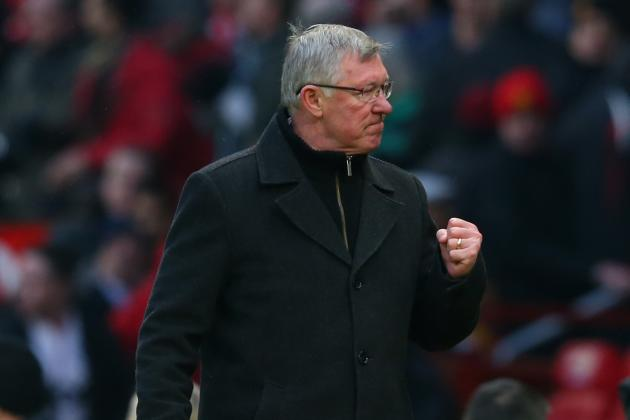 Manchester United Boss Sir Alex Ferguson Praises Hunger Shown by Squad