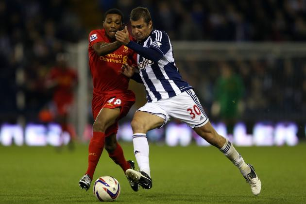 Liverpool vs. West Brom: The Reds Dare Not Adopt a High-Tempo Pressing Approach