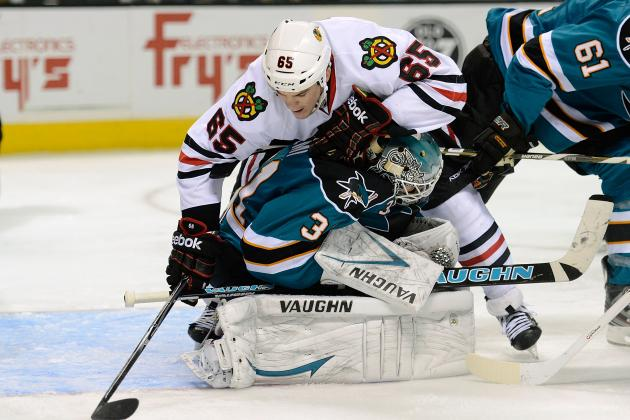 Chicago Blackhawks Survive a Physical, but Clean Contest in San Jose