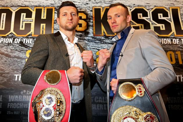 Kessler Has No Worries on Judges or Ref for Froch