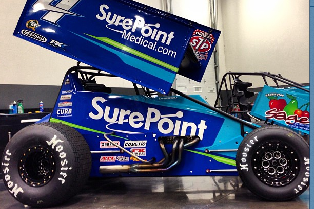 Instagram: Kasey Kahne's Sleek New Dirt Racer