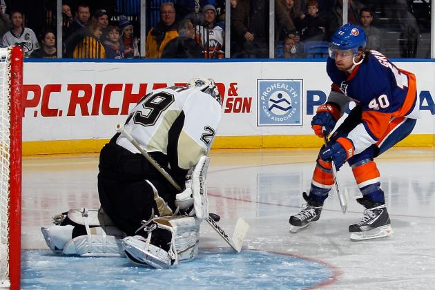 Penguins' Fleury Saves Win over Islanders on Penalty Kills