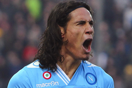 Manchester City Readying Move for Napolis Edinson Cavani
