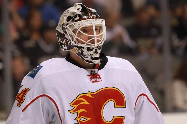 Calgary Flames Lose Miikka Kiprusoff to Lower-Body Injury