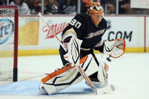Is There a Goalie Controversy Emerging in Anaheim?
