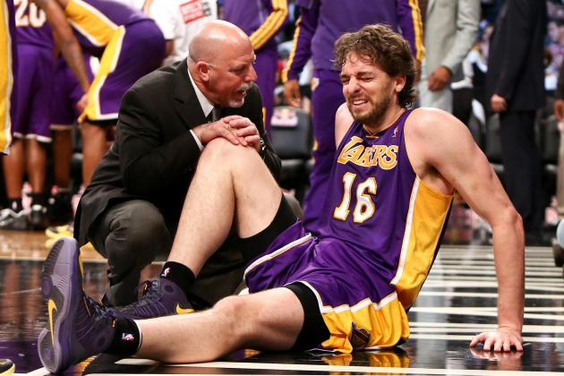 Lakers News: What Pau Gasol Injury Means for LA Going Forward