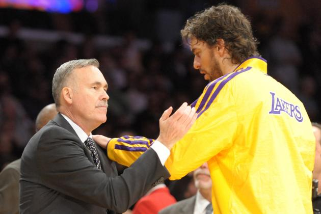 Pau Gasol's Injury Paves Way for LA Lakers to Play Mike D'Antoni Small Ball
