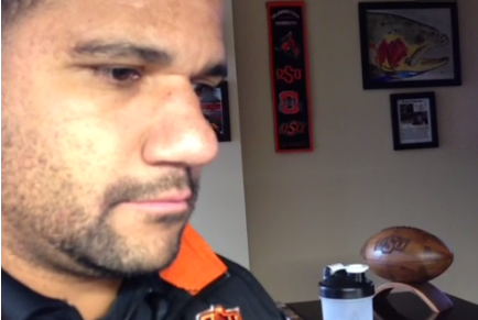 Watch: OK-State Coach Gets Super Pumped on NSD