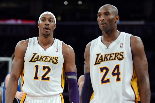 Kobe Bryant Feels Gasol's Pain. Dwight's? No