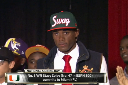 Stacy Coley to Miami: Hurricanes Land 4-Star WR Recruit