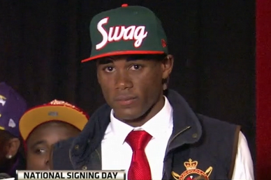 No. 3 WR Picks Miami for 'Swag'