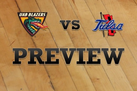 UAB vs. Tulsa: Full Game Preview