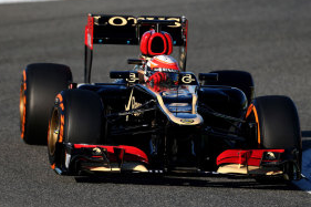 Romain Grosjean Sets Pace on Day Two