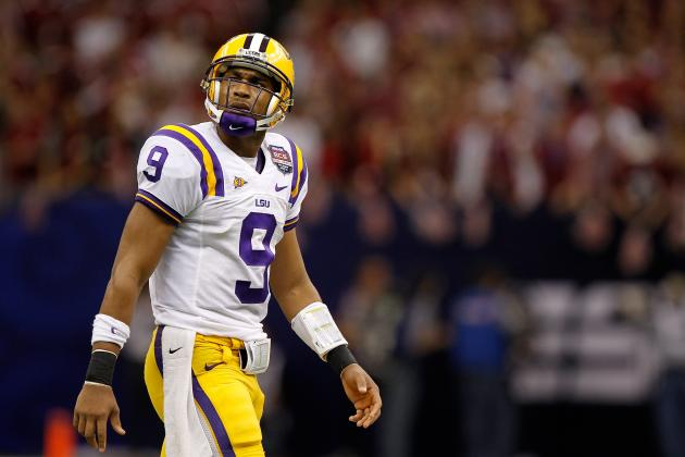 Arena Team Adds Ex-LSU QB Jordan Jefferson