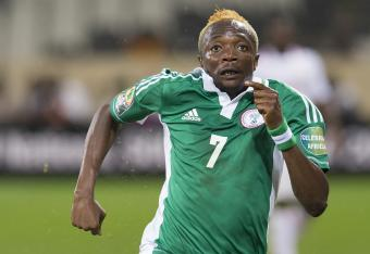 Musa Ahmed scored Nigeria's fourth goal against Mali.