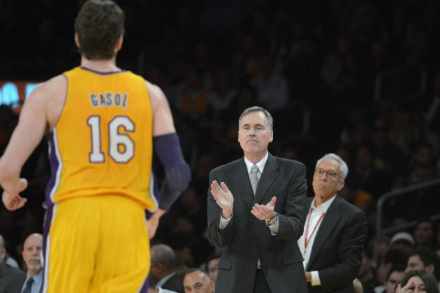 Pau Gasol Thinks Mike D'Antoni Is 'Messing' with His Season