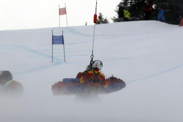 Injured Ski Star Vonn Thanks Doctors, Fans