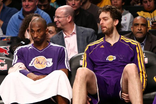 Kobe Bryant, Lakers Close out Nets, but Lose Pau Gasol in Process