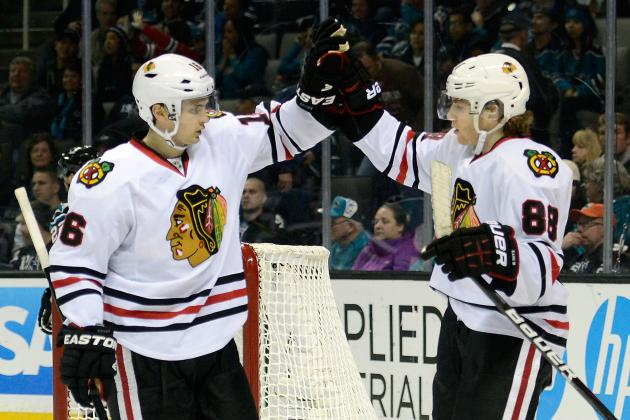 5 Takeaways from Blackhawks' Victory over Sharks in Western Conference Showdown