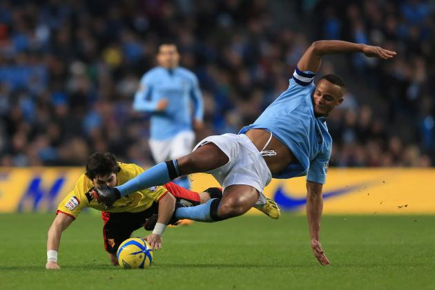 How Serious Is Vincent Kompany's Recurring Calf Injury to City's Title Hopes?