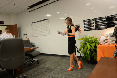 Tennessee Breaks out Their Own Fax Girl in Grand Tradition Started by Alabama