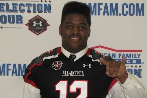 Texas Longhorns OL commit Darius James talks recruiting