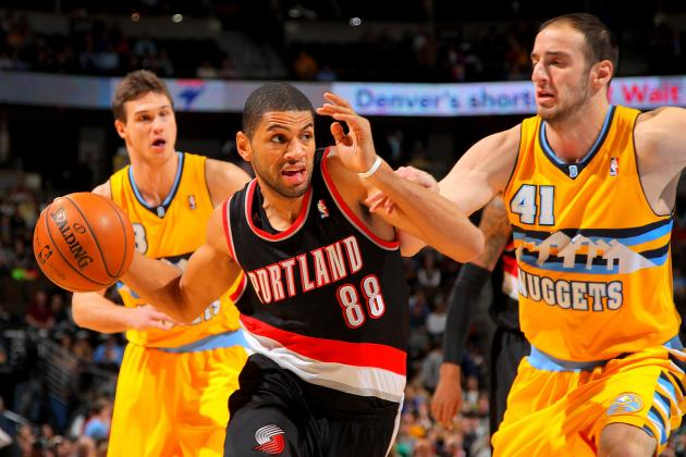 Nicolas Batum's Right Wrist Is Not Right
