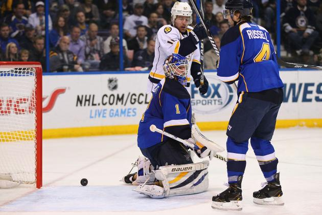 Blues Pummeled by Predators, Surrender 6 Goals