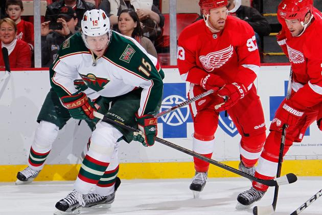 Minnesota Wild Move Struggling Dany Heatley to Second Line