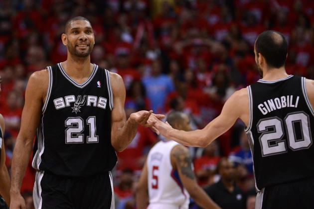 Spurs Nation Duncan, Manu Ruled out for Trip Opener