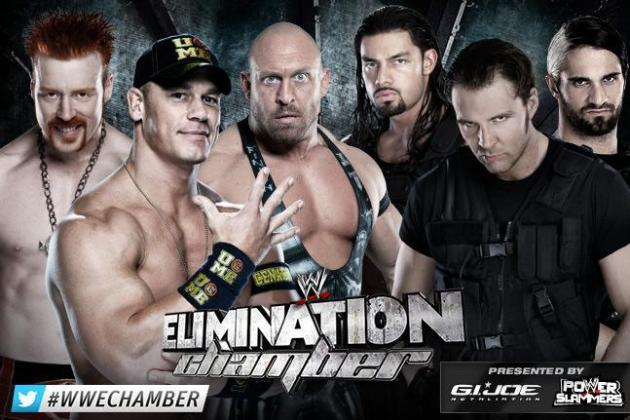 WWE Elimination Chamber 2013: Booking the Shield vs. John Cena, Ryback & Sheamus