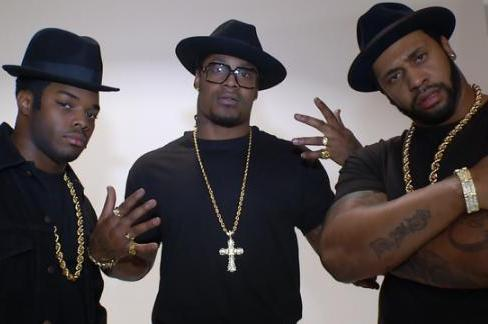 Seahawks' Marshawn Lynch, Others Pose as Run-DMC for Magazine Cover