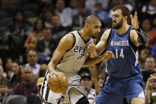 Spurs at Timberwolves Preview