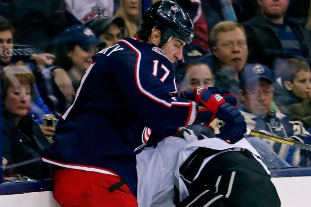 Blue Jackets' Brandon Dubinsky Fined $10,000 for Boarding