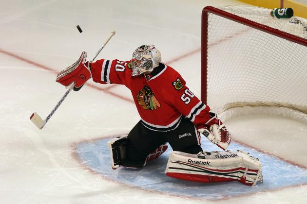 Should Corey Crawford or Ray Emery Spend More Time in Goal for the Blackhawks?