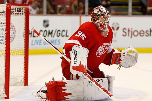 Red Wings' Jimmy Howard Rests, Will Get Relief One of These Days