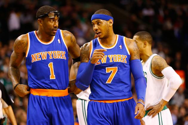 Amar'e Stoudemire and Carmelo Anthony Are Proving They Can Play Together and Win