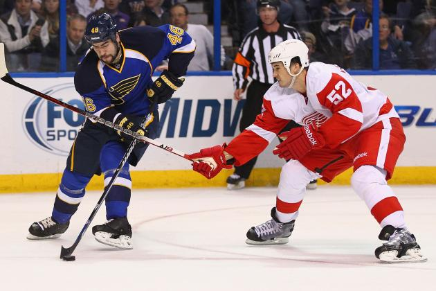 Reeling Red Wings Gearing Up for Another Showdown with Blues