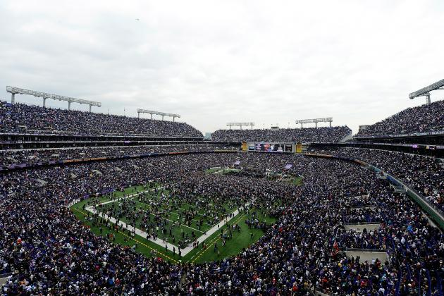 Ravens' Victory Parade: A Unique Look from Inside M&T Bank Stadium