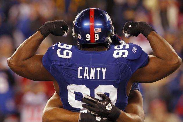 DT Chris Canty Released by Giants