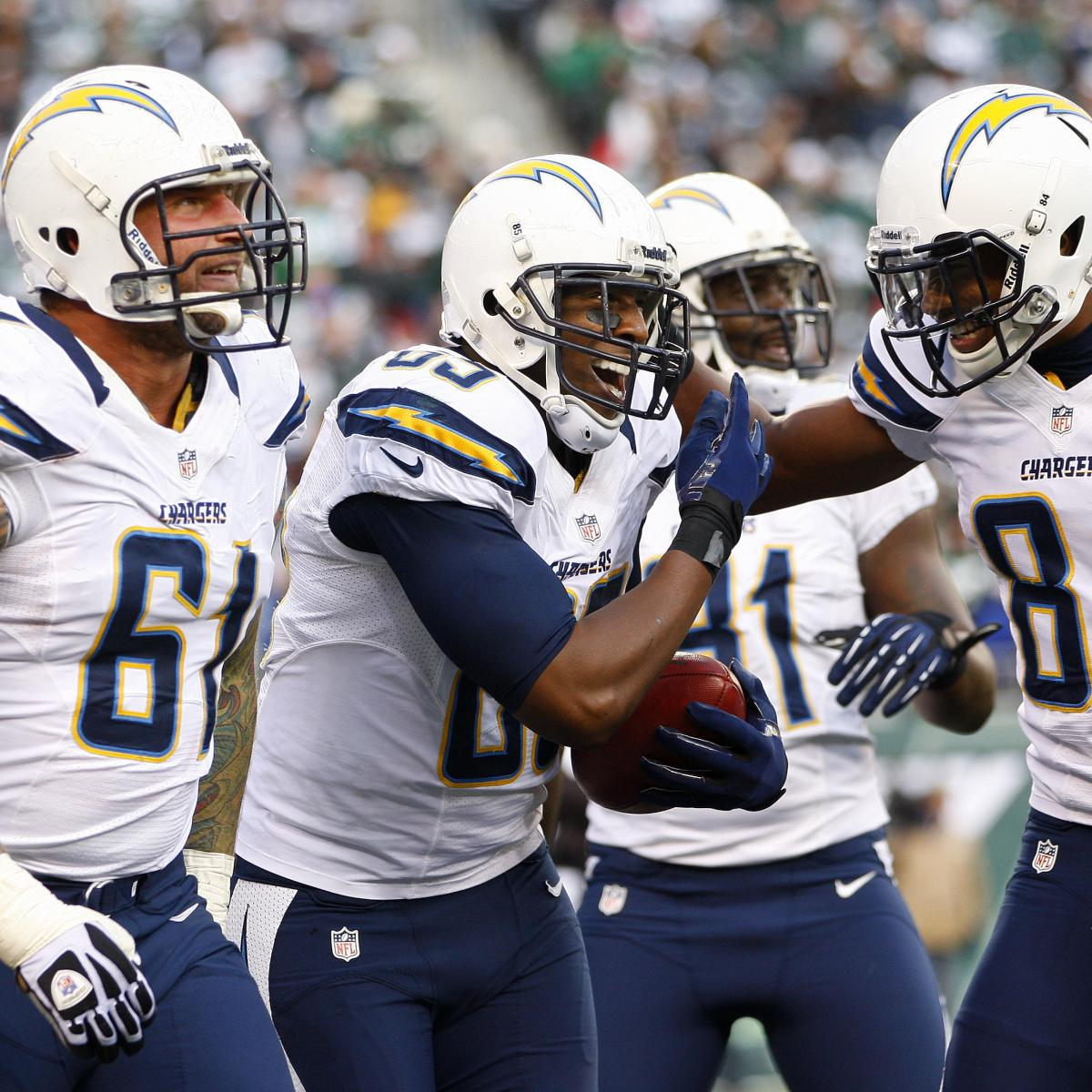 San Diego Chargers Bleacher Report: Grading The Strength Of San Diego Chargers' Roster Heading