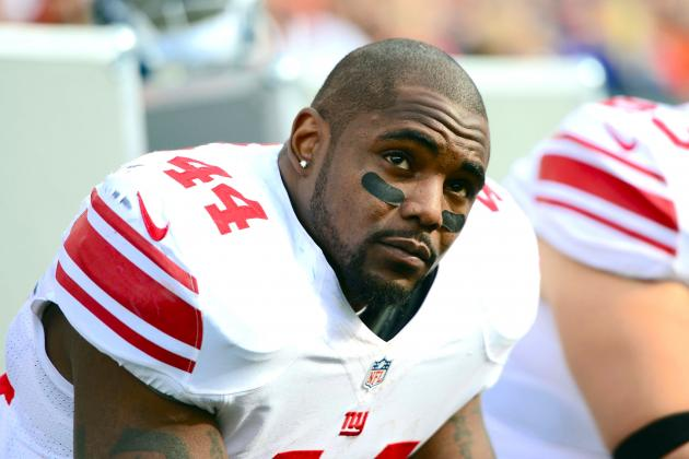New York Giants Release Ahmad Bradshaw and Chris Canty