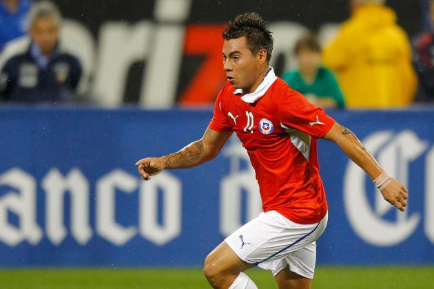Vargas and Carmona on Target as Chile Beat Egypt