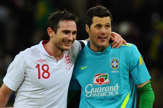England vs. Brazil Match Report