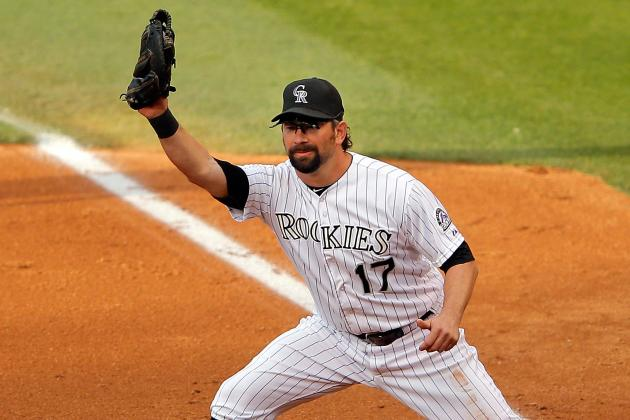 MLB Legend Todd Helton Busted for DUI